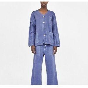 NWOT Zara Premium Denim collection - Jacket